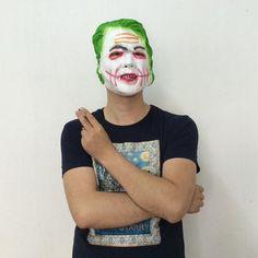 Latex Crafts Batman Mask Dark Knight Clown Adult Face Mask Halloween Vampire Mask Cosplay Prop Halloween Party Kit Decoration