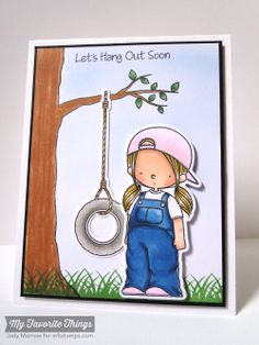 Let's Hang Out, Let's Hang Out Die-namics - Jody Morrow #mftstamps