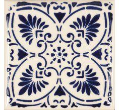 Florentina Lace Bianco/Blu