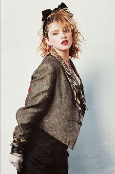 "laurapalmerwalkswithme:  Madonna by Herb Ritts, ""Desperately Seeking Susan"""