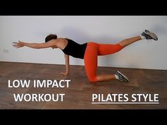 ▶ Low Impact Beginner Pilates Workout – 20 Minute Workout Toning Core and Legs - YouTube