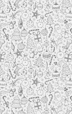 Xmas iPhone wallpaper