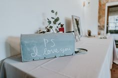 Mailbox Card Box P. L Love You, Twinkle Lights, Mailbox, Wedding Venues, Reception, Fall, Cards, Photography, Decor