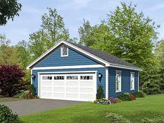 2-Car Garage Plan, 062G-0085