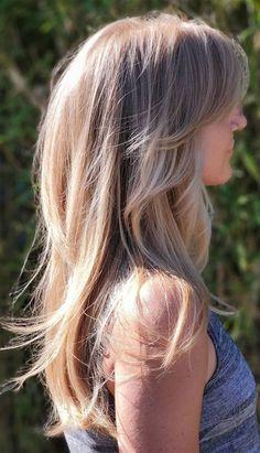 Medium Long Layered Haircuts, Long Layers Medium Hair, Haircut Medium, Blonde Hair With Layers, Layered Haircuts For Long Hair, Long Choppy Haircuts, Haircut Long Hair, Layered Long Hair, Haircuts For Long Hair With Layers