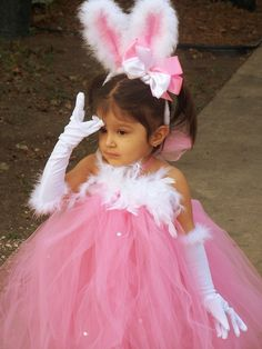 Bunny Tutu Dress - Alesa must have this look for Easter 2012!!!