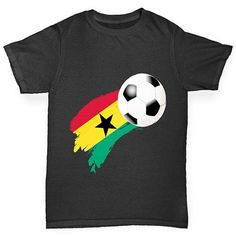 Ghana Football Fl...  Rock In Style With Twisted Envy creative Art, Personalised Gifts, funny t-shirts & more,     http://twistedenvy.com/products/ghana-football-flag-paint-splat-boys-t-shirt?utm_campaign=social_autopilot&utm_source=pin&utm_medium=pin