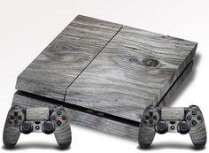 Wood Grain PS4 Skin Playstation 4