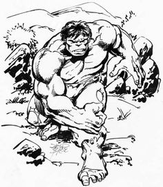Hulk by John Byrne . Comic Book Artists, Comic Artist, Comic Books Art, Hulk Comic, Hulk Marvel, Marvel Heroes, Avengers, Illustration Pen And Ink, Comic Art Fans