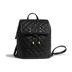 Discover the latest collection of CHANEL Handbags. Explore the full range of Fashion Handbags and find your favorite pieces on the CHANEL website. Chanel Backpack, Backpack Outfit, Black Backpack, Leather Backpack, Fashion Backpack, Chanel Handbags, Fashion Handbags, Purses And Handbags, Chanel Bags