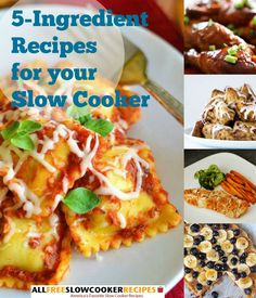 5 Ingredient Recipes for your Slow Cooker