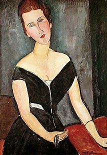 Amadeo Modigliani - Madame G. van Muyden