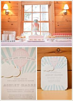 Half Baked – The Cake Blog » Up, Up and Away Baby Shower