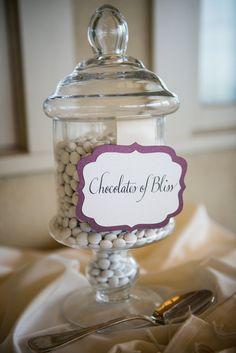 Noelle and Aaron: Wedding Candy Bar