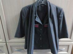 short sleeve grey designer jacket #Matthew #Williamson