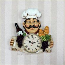 Creativo country orologi personalità cucina ristorante orologio da parete(China (Mainland))