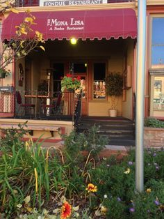 """The Mona Lisa Fondue Restaurant in Manitou Springs. Voted the """"Most Romantic Restaurant"""""""