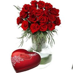 Hearts and roses--timeless gifts of romantic LOVE