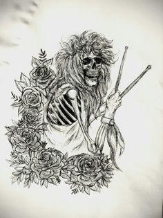 Steven Adler fan art