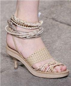 Estas #sandalias son perfectas para el #verano.