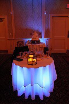 #wedding #sweetheart table #uplighting