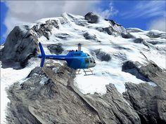 Monte Rosa, Alpes, Suiza - Italia