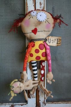 LoLLy DoLLy ADDISON AND DOLLY di buttuglee su Etsy