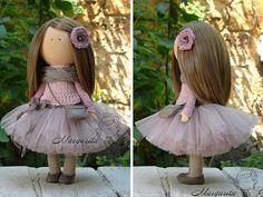 Unique doll Interior doll Handmade doll Rag by AnnKirillartPlace