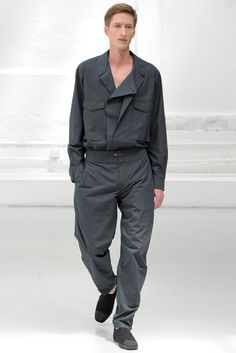 Spring 2015 Menswear - Christophe Lemaire