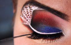 Makeup your Jangsara: Tutorial: Spiderman