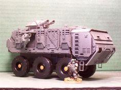 New 6X6 Wheeled Tank/Transporter - Warhammer 40k Forum Tau Online