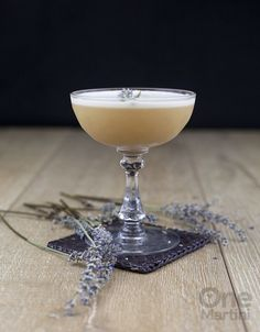 Lady Jane : an earl grey gin cocktail : http://onemartini.com