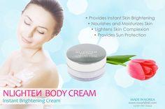 For lighter, smoother, younger-looking skin, Use our Nworld Nlighten Body Cream Lighten Scars, Lighten Skin, Nlighten Products, Beauty Products, Facial Cream, Younger Looking Skin, Skin Brightening, Beauty Essentials, Korean Beauty