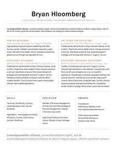 Resume templates to highlight your accomplishments job pinterest resume templates to highlight your accomplishments thecheapjerseys Image collections