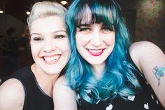 Melina Souza - Serendipity <3    Mahara Alberttoni - Hair artist and make up    http://melinasouza.com/2017/02/25/o-dia-em-que-meu-cabelo-ficou-azul/ 💙    #Hair  #BlueHair   #MelinaSouza