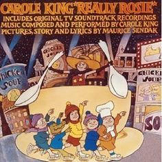 """Maurice Sendak's (and Carol King's) Really Rosie: """"I'm Really Rosie/I'm Rosie Real/You better believe me/I'm a great big deal"""" King Picture, Picture Story, Picture Books, Carole King Music, Alphabet Songs, Maurice Sendak, Music Pictures, Music For Kids, Kids Songs"""