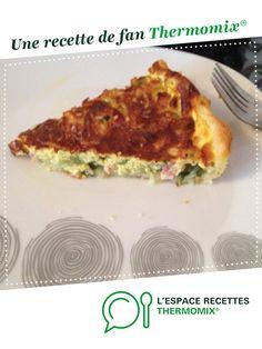 Quiche courgette / lardons par polinpeggy. Une recette de fan à retrouver dans la catégorie Tartes et tourtes salées, pizzas sur www.espace-recettes.fr, de Thermomix<sup>®</sup>.