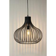 Sierlijke hanglamp GABRI L zwart | Ø 48 cm Pink Home Decor, Interior Lighting, Led Lamp, Ceiling Lights, Architects, Light Fixtures, Large Lamps, Design For Home, Ceiling Lamp