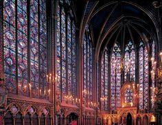 Le Sainte Chapelle...  no photo can do this place justice....