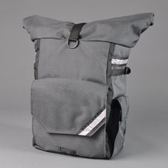 CONVERTIBLE BACKPACK PANNIER  Woodward  Steel Grey by NorthStBags, $215.00