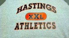 Hastings High School - Athletics - XXL - Hoodie - hoody - sweatshirt - sweat shirt - t-shirt - tee shirt - design - screen print - screenprint - Kearney, NE - Shirt Shack