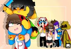 Chibi, Five Nights At Freddy's, Bowser, Mickey Mouse, Disney Characters, Fictional Characters, Wattpad, Instagram, Anime Art