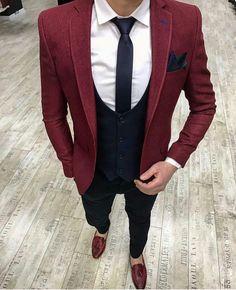 Suit Ideas For Men - Herren- und Damenmode - Kleidung Der Gentleman, Gentleman Style, Mens Fashion Suits, Mens Suits, Suit For Men, Traje Casual, Blazer Outfits Men, Designer Suits For Men, Look Man