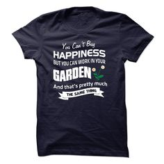 Happiness and Garden T-Shirts, Hoodies. CHECK PRICE ==► https://www.sunfrog.com/Hobby/Happiness-and-Garden.html?id=41382