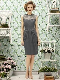 Lela Rose Style LR189 http://www.dessy.com/dresses/bridesmaid/lr189/?color=taupe&colorid=109