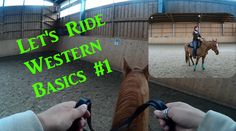 [LetsRide] Westernreiten Basics #1 Anreiten, Anhalten, Rückwärtsrichten... - YouTube