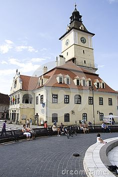 Concil house from Brasov main square