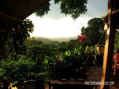 Our favorite daily activity: watching the sun set over the Sierra Nevadas, Santa Marta, and the Carribbean sea. Casa Loma Minca in Minca, Colombia is well worth the trip.