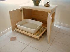 Litter Box Furniture   Cat litter Furniture, Discount Cat litter furniture, Kitty litter ...