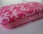 Custom Covered Travel Wipes Case -- Over 80 Fabric Options